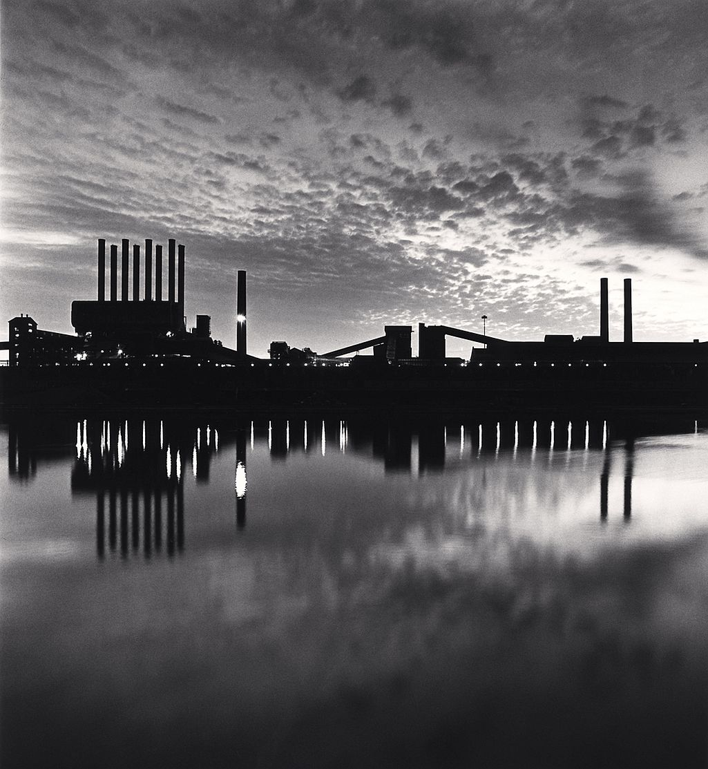 Michael Kenna, The Rouge, Study 14, Dearborn, Michigan, USA. 1993