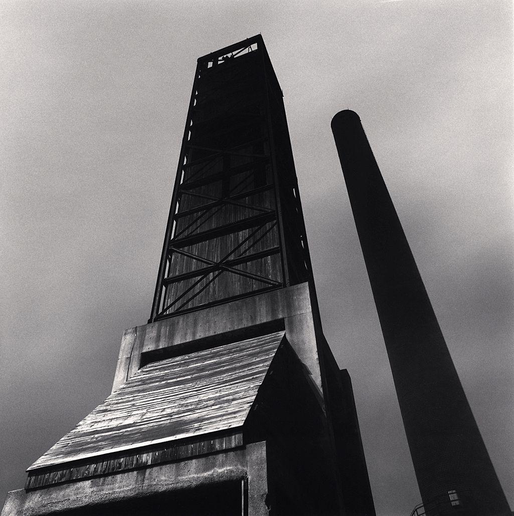 Michael Kenna, The Rouge, Study 74, Dearborn, Michigan, USA. 1994