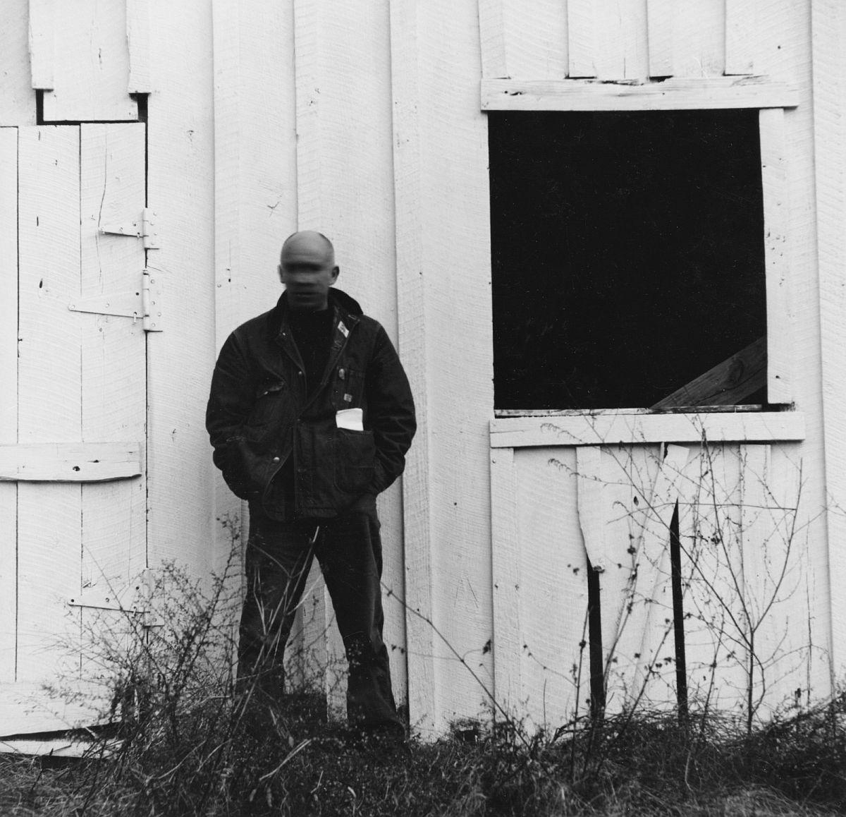 Ralph Eugene Meatyard, Untitled [Thomas Merton, early winter], 1967