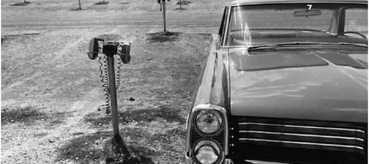 The new Cars, 1964 by Lee Friedlander