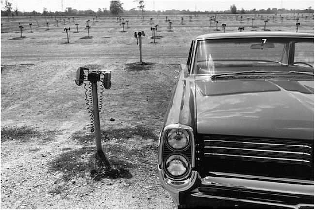 Lee Friedlander  Detroit, Pontiac Bonneville, 1963