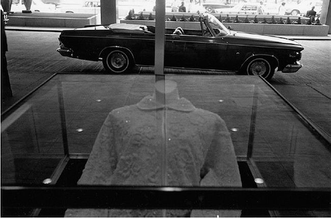 Lee Friedlander  New York City, Chrysler 300, 1963