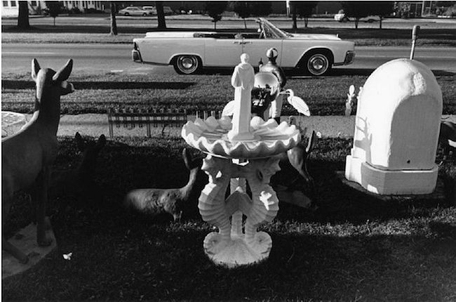 Lee Friedlander  Detroit, Lincoln Continental, 1963