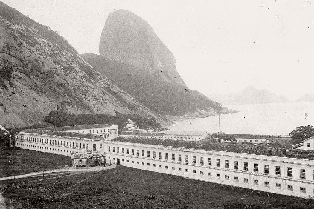 Military College (known before as Military Academy) in Rio de Janeiro, 1888