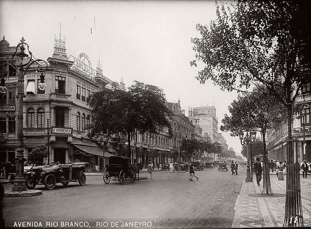 Avenida Rio Branco, Rio de Janeiro, 1919
