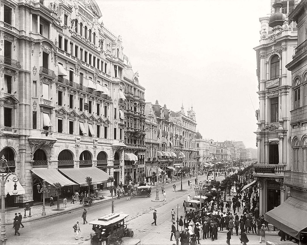 Avenida Central, today Avenida Rio Branco, Rio de Janeiro, 1906