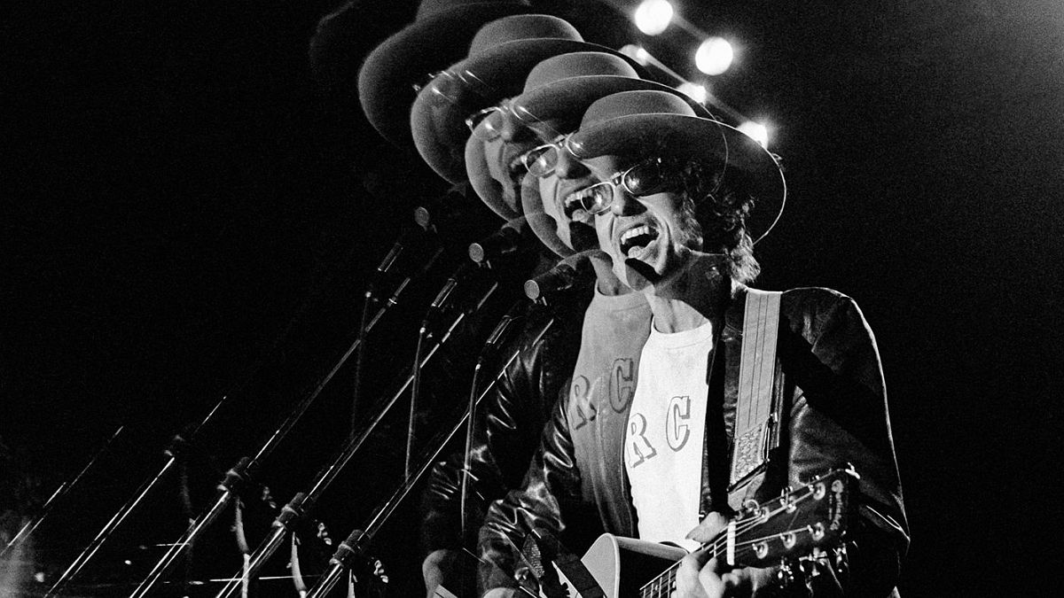 "The Rolling Thunder Revue set list mixed in Sixties folk-era classics like ""A Hard Rain's A-Gonna Fall"" and ""The Lonesome Death of Hattie Carroll"" with newer songs like ""Tangled Up in Blue"" and ""Romance in Durango."""