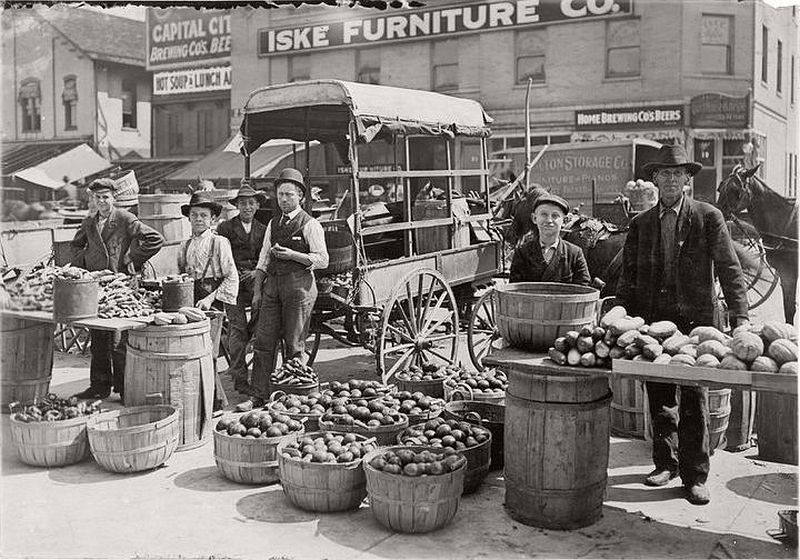 Indianapolis Market, August 1908