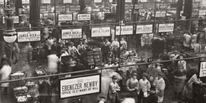 Vintage: Edwardian Markets in the 1900s
