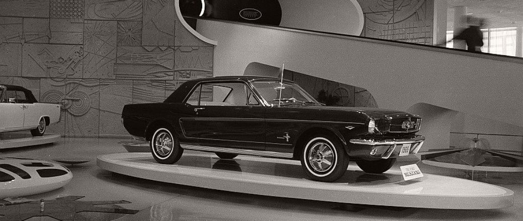 Vintage ford mustang at the 1964 new york world 39 s fair monovisions - Ford mustang vintage ...