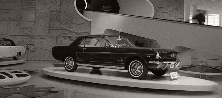 Vintage: Ford Mustang at the 1964 New York World's Fair