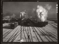 Vintage: Railway in Chicago (1940s)
