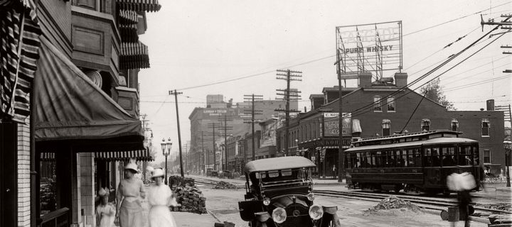 Vintage: Streets of St. Louis, Missouri (1900s)