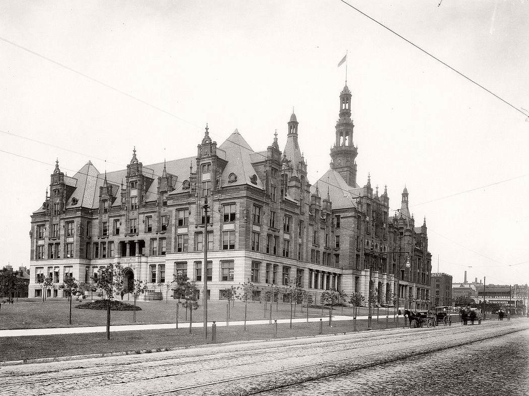 St. Louis City Hall, ca. 1900s