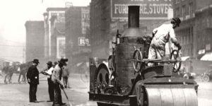 Vintage: Streets of St. Louis, Missouri (early XX Century)