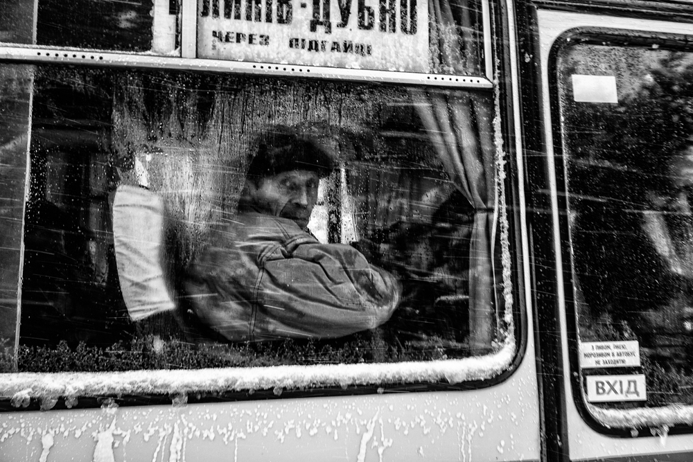 Street Photography 2ND PLACE WINNER (professional) 2ND PLACE WINNER Przemysław Niepokój-Hepnar, Strong winter in Volyn