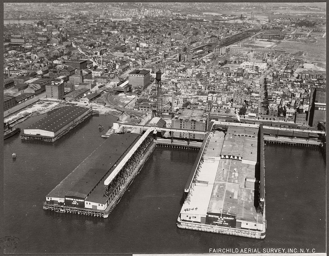 Boston and Albany freight yards