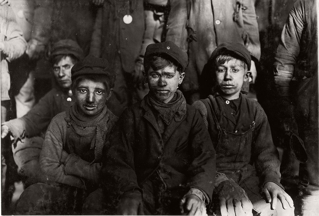 Breaker boys, Hughestown Borough, Pennsylvania, 1911