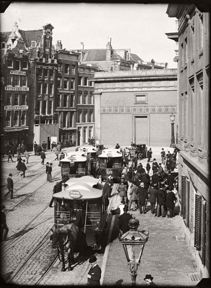 Dam Square, 1890