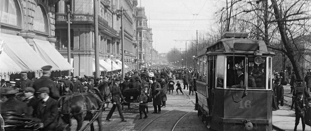 Vintage: Helsinki in the late 19th Century (1890s)