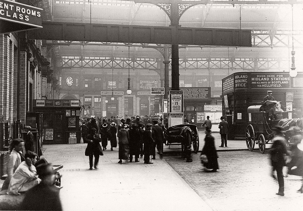 LIverpool Exchange Station, 1910