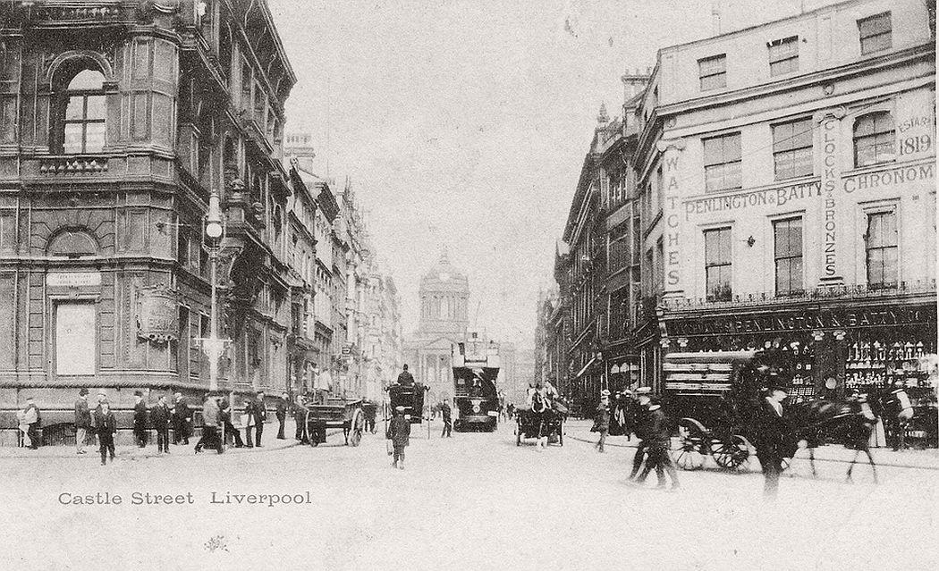 Castle Street, Liverpool, ca. 1900s
