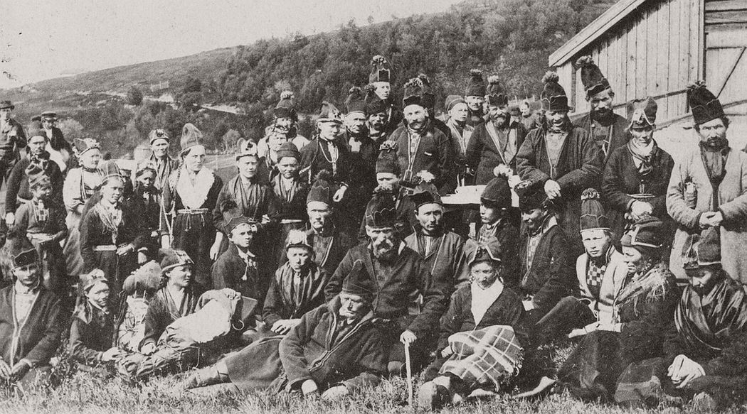 Sweden Sami people 1899 Jamtland