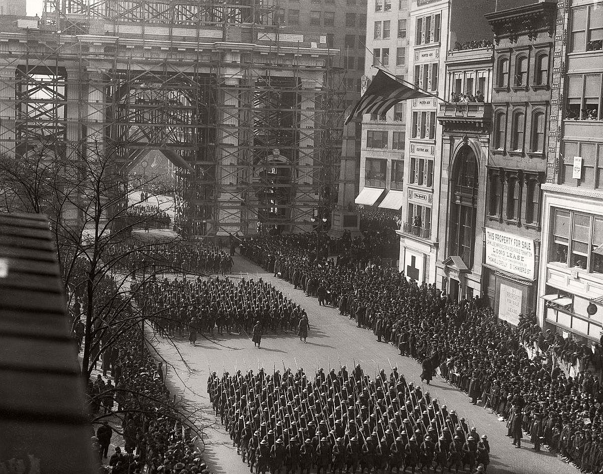 Feb. 17, 1919. (Bettmann/Corbis)