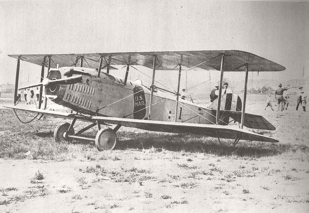 JR-1B mail airplane designed by the Standard Aircraft Corporation, 31 Dec. 1918