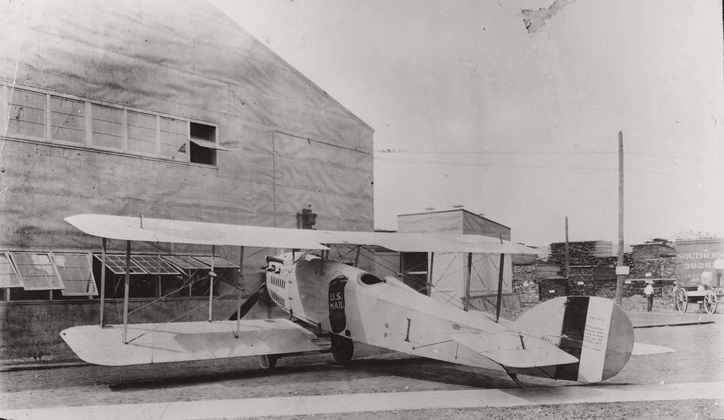 JR-1B mail airplane, 1918
