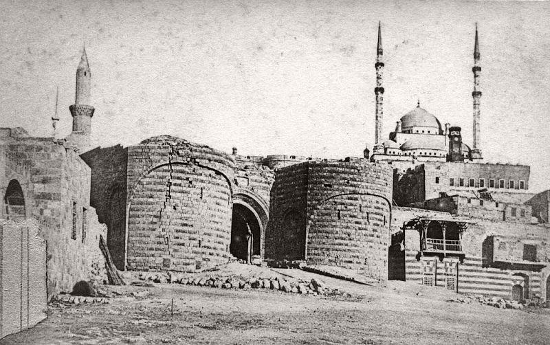 The Citadel Gate, Cairo, 1864