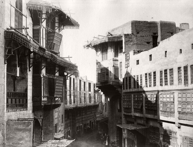 A Street in Cairo, 1862