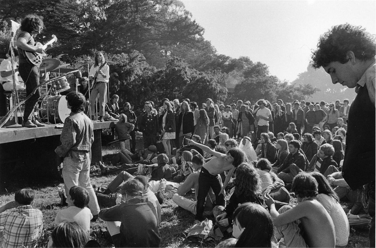 Grateful Dead, Golden Gate Park 1967