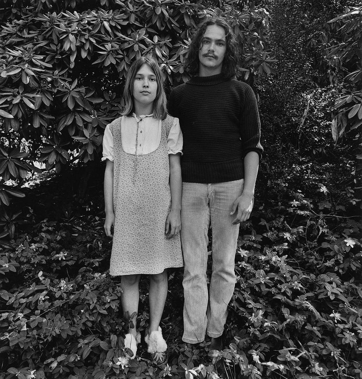 Couple in Park 1968
