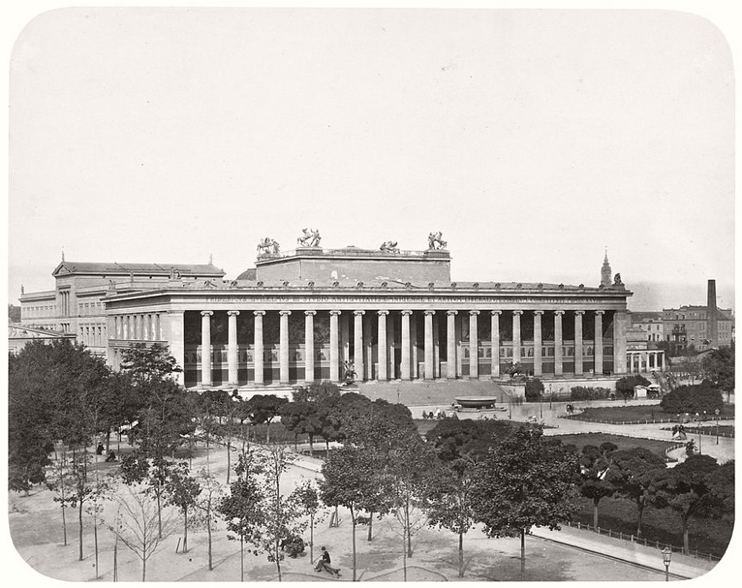 Leopold Ahrendts  Altes Museum, around 1861