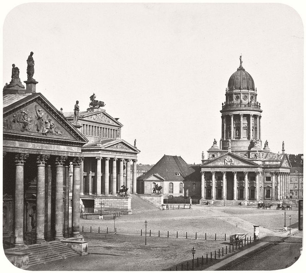 Leopold Ahrendts  Gendarmenmarkt, 1855-59