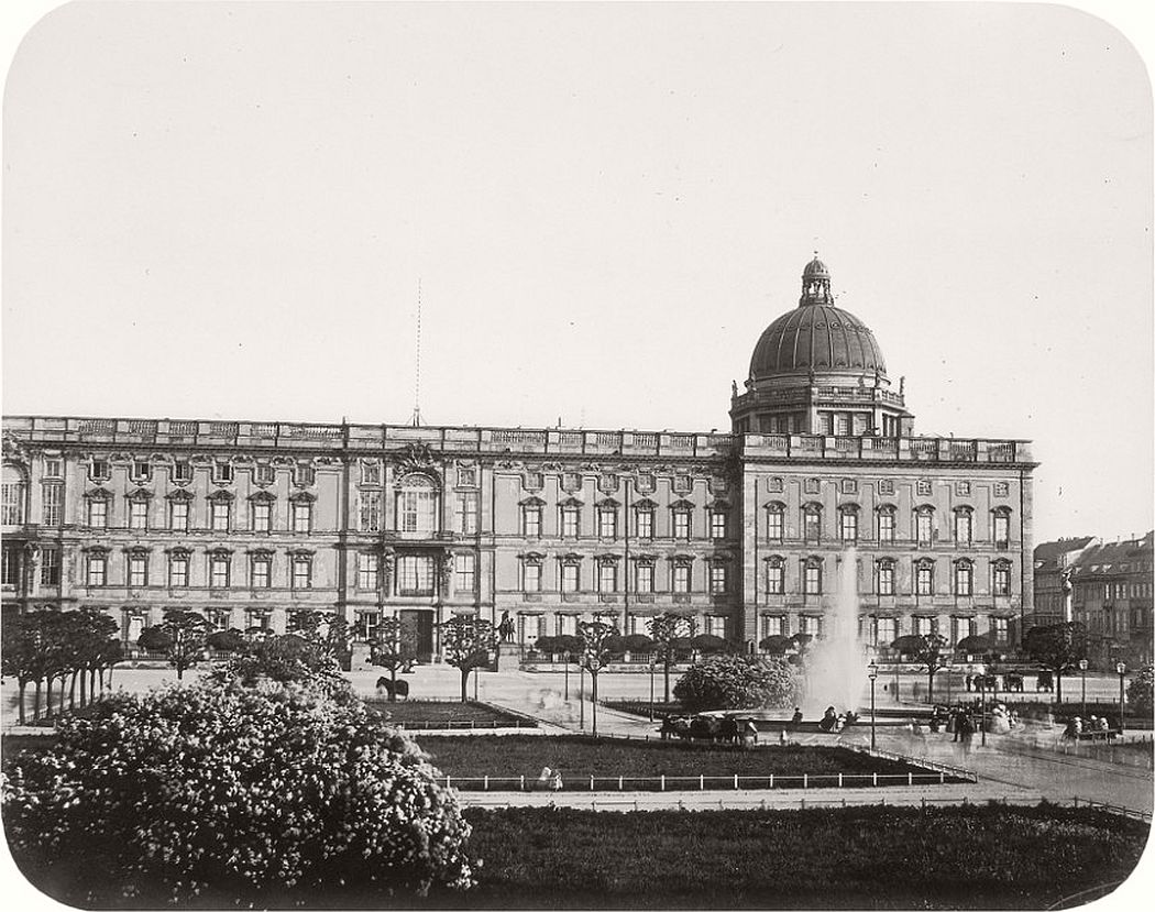 Leopold Ahrendts  Royal Castle, around 1856