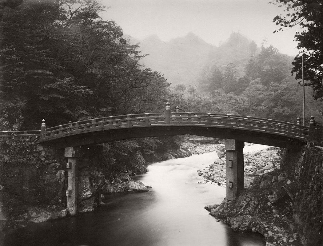 Sacred Bridge at Nikko, ca. 1880