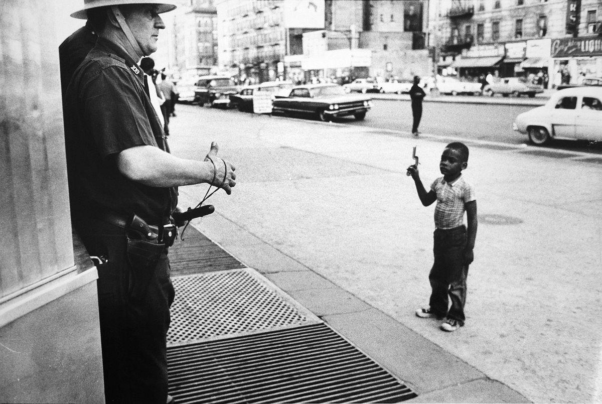 Race riots, Harlem, New York City, 1964, © Neil Libbert