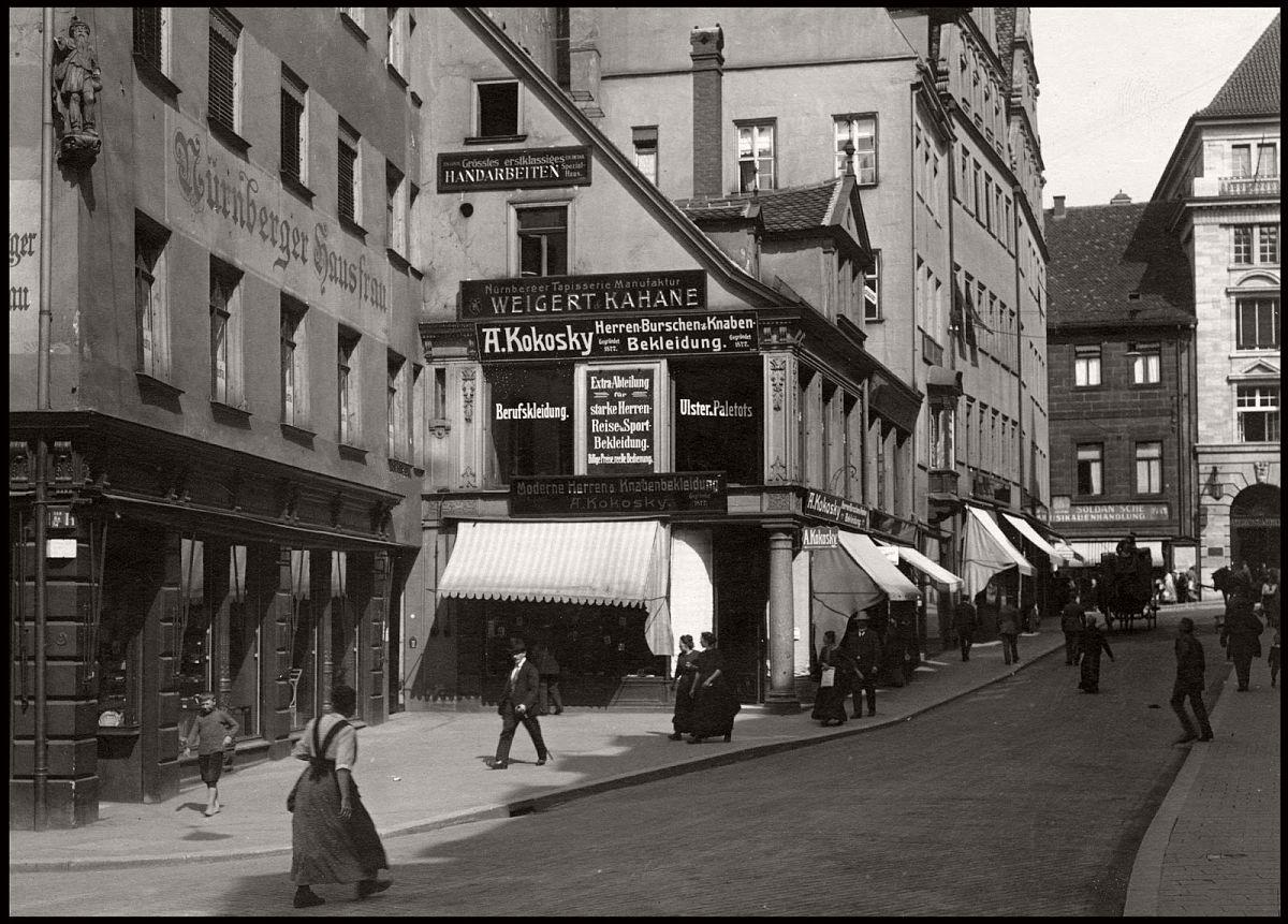 vintage everyday life and street scenes of nuremberg 1910s monovisions. Black Bedroom Furniture Sets. Home Design Ideas