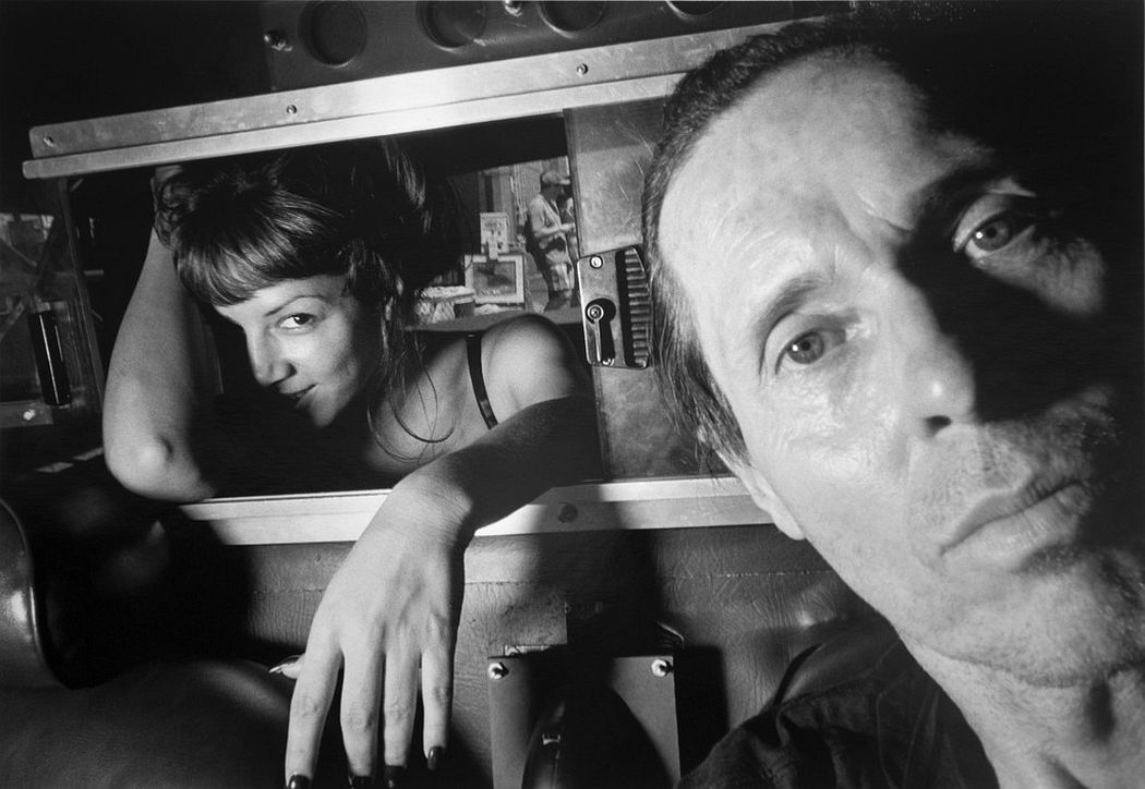 Ryan Weideman Self-Portrait with Coy Female, 1997