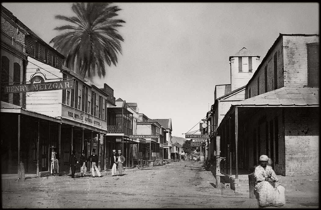 Harbour St, Kingston, Jamaica, 1874