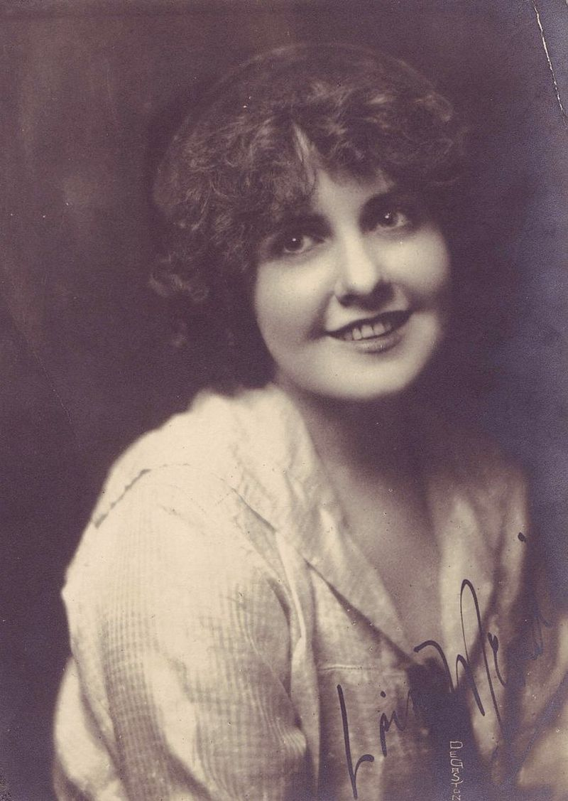 Vintage Portraits Of American Silent Film Movie Actresses