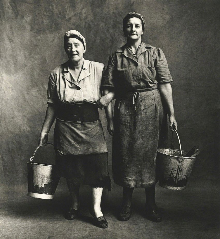 Irving Penn Charwomen, London-1950