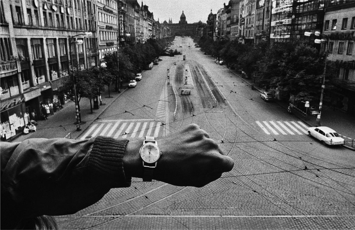 CZECHOSLOVAKIA. Prague. August 1968. Invasion by Warsaw Pact troops