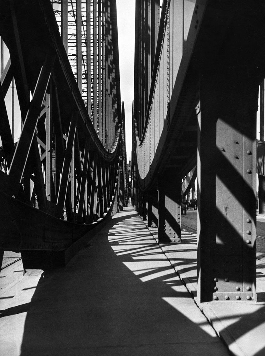 New Elbe Bridge, Hamburg, 1929 © Fritz Block Estate Archive, Stockholm/ Hamburg