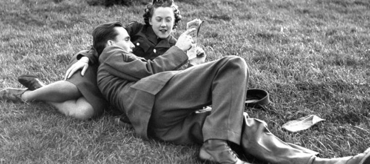 Vintage: American Soldiers and English Girls During World War II