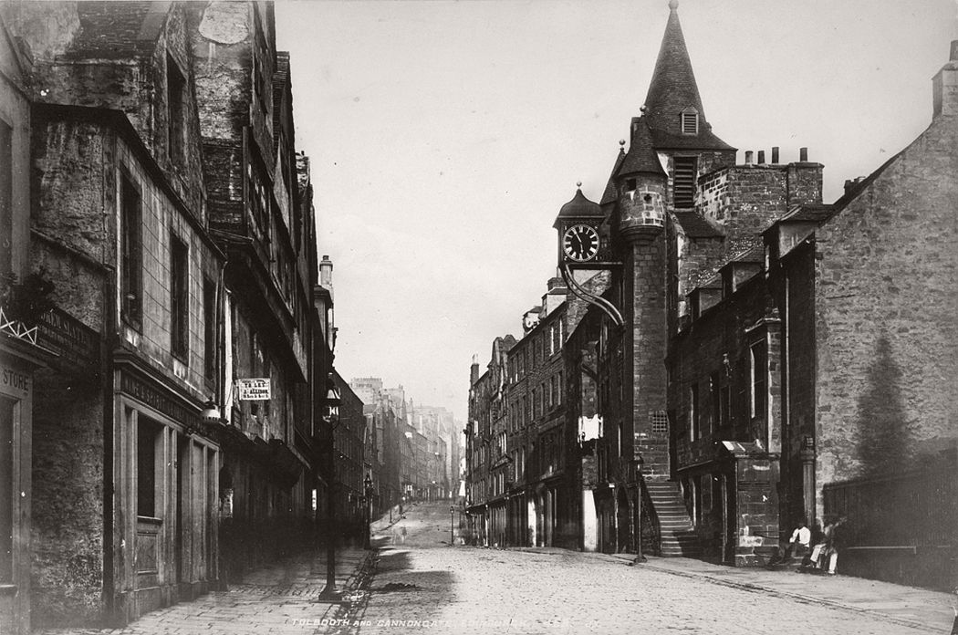 Tolbooth and Canongate, Edinburgh, ca. 1870s