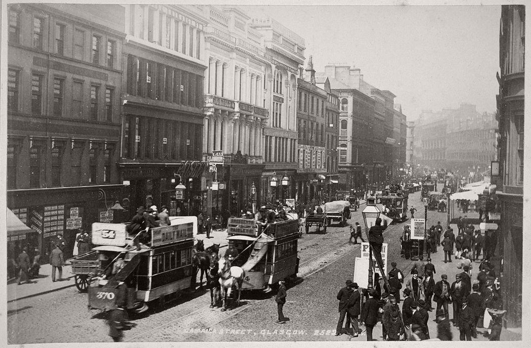 Jamaica Street, Glasgow, ca. 1880s