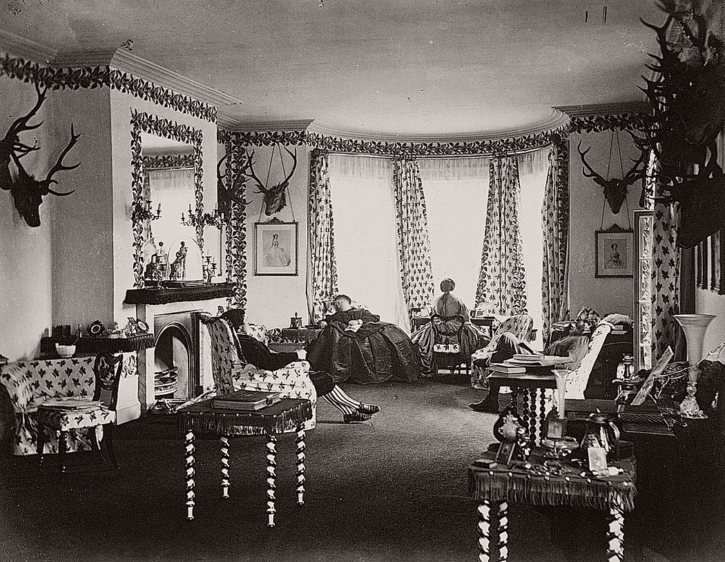 Interior of the Drawing Room, Mar Lodge, 1863